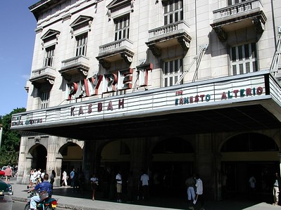 PAYRET Theater  - Cuba / Lugares Cubanos - Places in Cuba