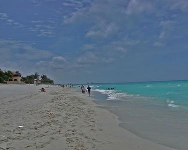 """""""A Walk on the Beach -Havana, Cuba"""""""