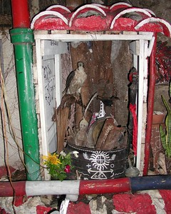 Statues, Images and Impressions from Cuba - A Santaria Alter