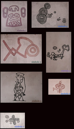 Ancient Symbols  -   Simbolos Antiguadoss This is a collection of paintings the University of Havana's Museum of Anthropology (Museo de anthopologia)