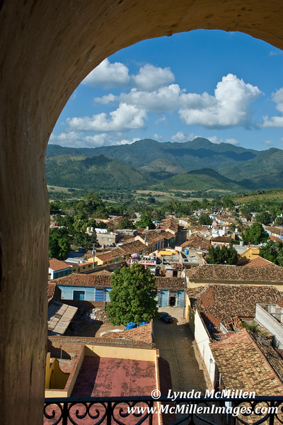 View from Iglesia San Francisco's bell tower.