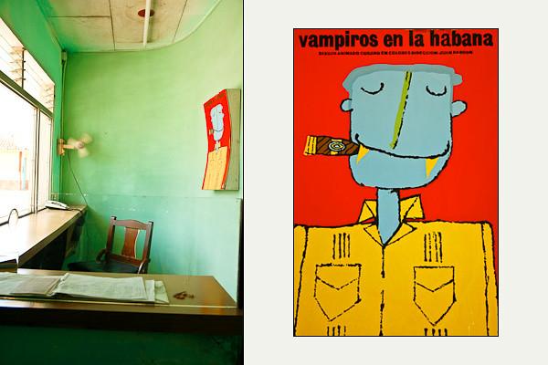 """""""Vampiros en la Habana"""" Cinema Poster<br /> Remedios"""