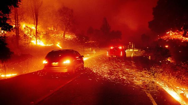 California Wildfires (25 October, 2019)