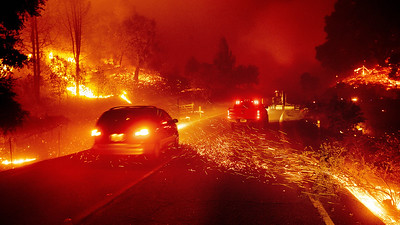 California Wildfires (25 October, 2019)