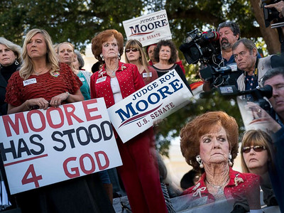 "Marchers for Alabama ""Christian"" Pedophile Roy Moore (11/18/17)"