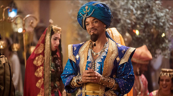 Will Smith as the Genie (Aladdin - 2019)