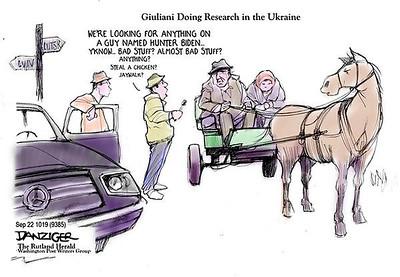 Guliani Digging for Dirt in Ukraine