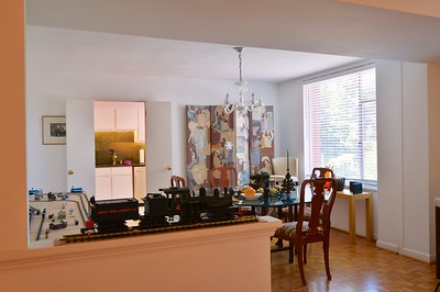 DINING / KITCHEN FROM LIVING ROOM
