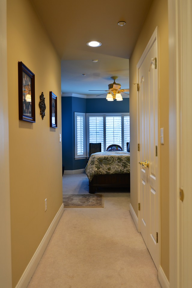 MASTER BEDROOM FROM MASTER BATH
