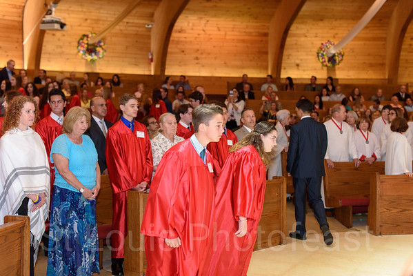 4-28-2018 - 10 AM Confirmation Mass - by Alex Ledesma