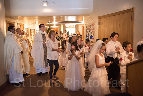 5-6-2018 - 1:00 PM First Communion - by Toribio Tijerinl