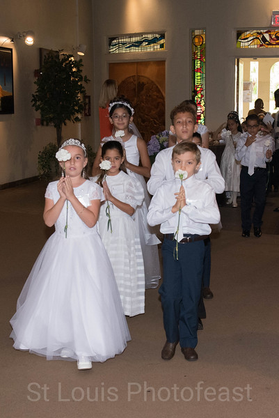5/19/2018 - 1:00 PM First Communion - by Toribio Tijerino