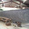 Deck installed. Hull fairing in progress.