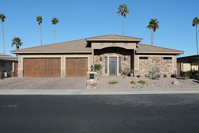 CUSTOM HOME - SUN CITY - LAKEFRONT