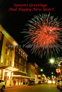 A shot I loved of Downtown Greenwood at Christmas!!!