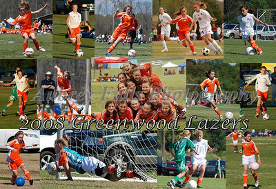 This collage was of my daughter's 2008 D2 soccer team that won the U-12 State Championship under the coaching of Jim Allen, the soccer coach at Delta State University!!  It consists of an action shot of each team player.