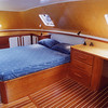 A an owner's aft cabin worthy of a tall ship!