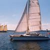 """""""Brio"""", sailing Penobscot Bay"""