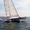 """Sluefoot"" Nantucket Sound. Built by Lone Star Multihulls"