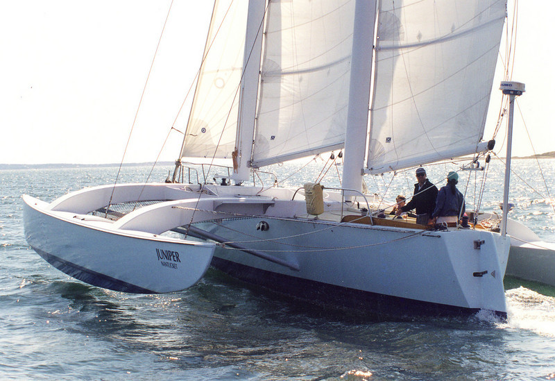 Sailing Buzzards Bay, Clemens photo
