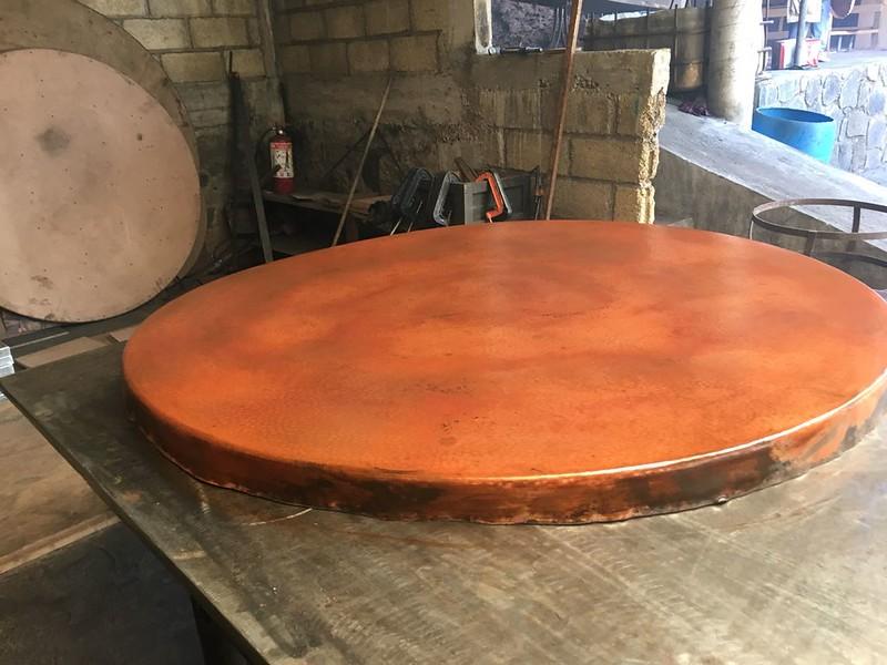 Copper Lamina in Cruda.