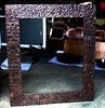 "Picture Frame 2 - 48"" x 42"" with 6"" wood-backed frame."