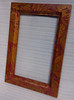 Mirror Frame 35 x 24 x 2 with Otono patina.