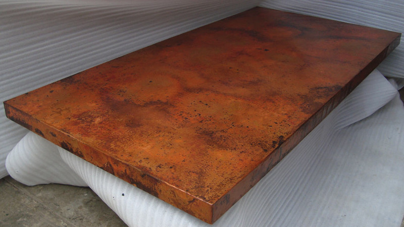 Beautiful patina, Stefanie. Just what you had in mind, yes? Check it out in original view.