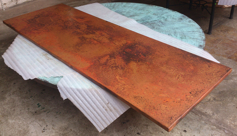 "The ""real"" patina. Looks good, yes?"