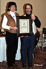 CHA 0097<br /> CCHA RIDERS HALL OF FAME<br /> ELAINE SPEIGHT<br /> RON ANDERSON PRESENTING