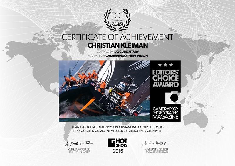 Editor's Choice Award 2015