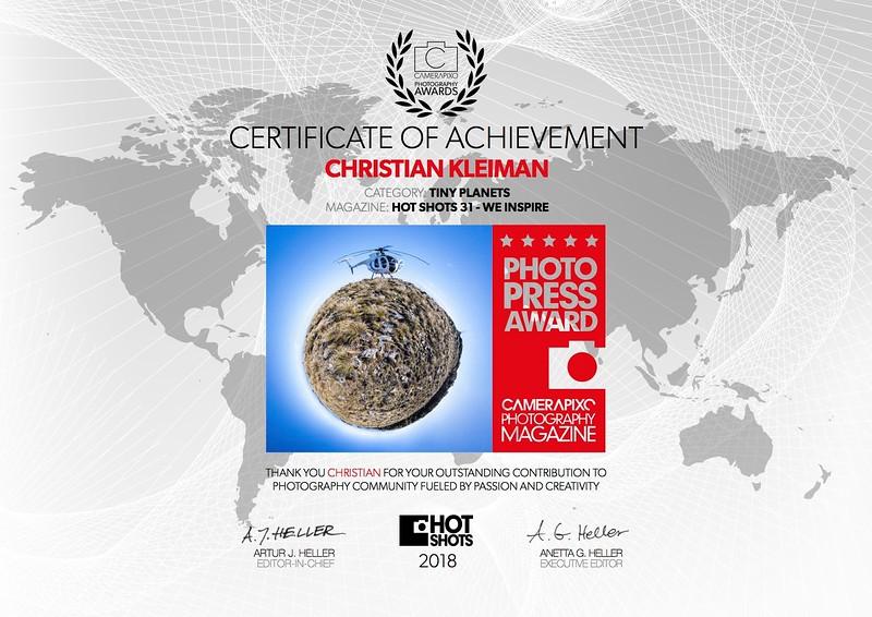 Photo Press Award 2018