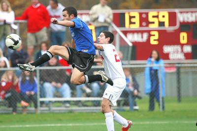 CVCA Men's Soccer (2) v. Hawken (1) OHSAA D3 Chardon District Semi-final, 2nd Half