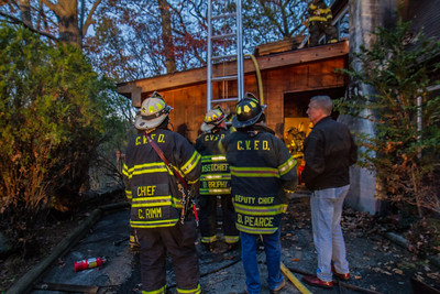 Chimney/Structure Fire, 11-5-14
