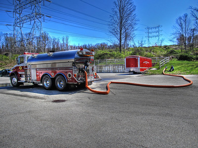 4-7-12 Tanker Drill With Yorktown FD