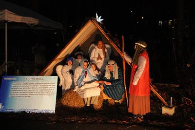 CVLC Living Nativity, Dec 9, 2017