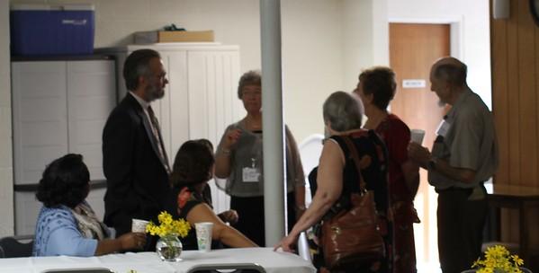 Pastor Campbell visit, Sept 20, 2015