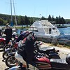 Saturday, stopped for lunch in Gore Bay.