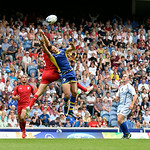 July 26, 2014 - Rugby Sevens - Canada v Barbados in the Rugby Sevens at the 20th Commonwealth Games in Glasgow, Scotland.  Final score of the game was Canada 68 and Barbados 5.  Photos by Al Milligan, Al Milligan Images, 2014