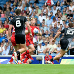 July 26, 2014 - Rugby Sevens - New Zealand v Canada in Rugby Sevens at the 20th Commonwealth Games in Glasgow, Scotland.<br /> <br /> If you have any questions don't hesitate to reach out to us!<br /> <br /> Thanks!<br /> <br /> Photos by Al Milligan, Al Milligan Images, 2014