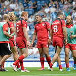 July 26, 2014 - Rugby Sevens - New Zealand vs Canada in Rugby Sevens at the 20th Commonwealth Games in Glasgow, Scotland.  Final score of the game was New Zealand 39 and Canada 0.  Photos by Al Milligan, Al Milligan Images, 2014
