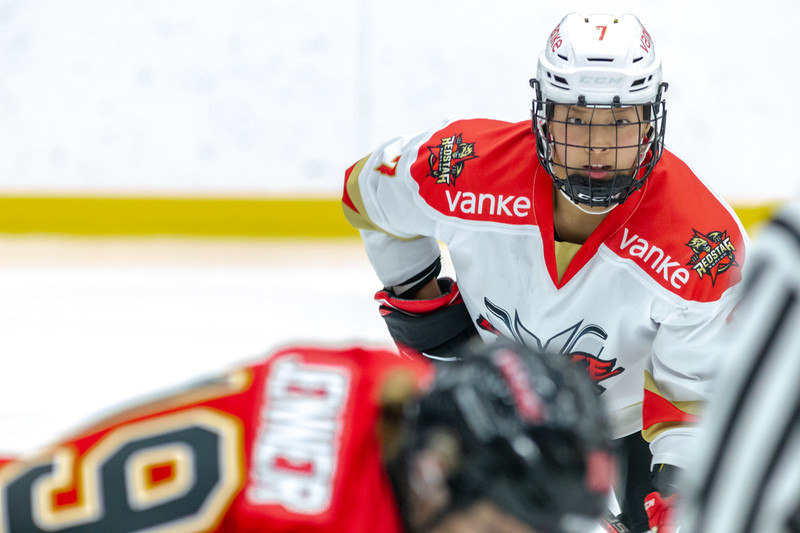 October 20, 2018 - Winsport, Calgary, AB - The Calgary Inferno hosted the Shenzhen Vanke Rays for the first game of a two game series at the Markin MacPhail Centre.