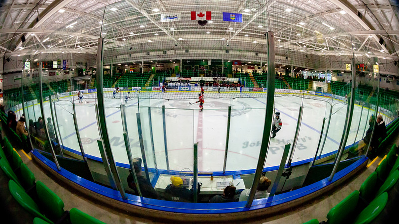 January 13, 2019 - Okotoks, Alberta - The Calgary Inferno played the Toronto Furies in the second game of a two home game weekend series in Calgary. This game was played at the Pason Centennial Arena in the town of Okotoks, Alberta.