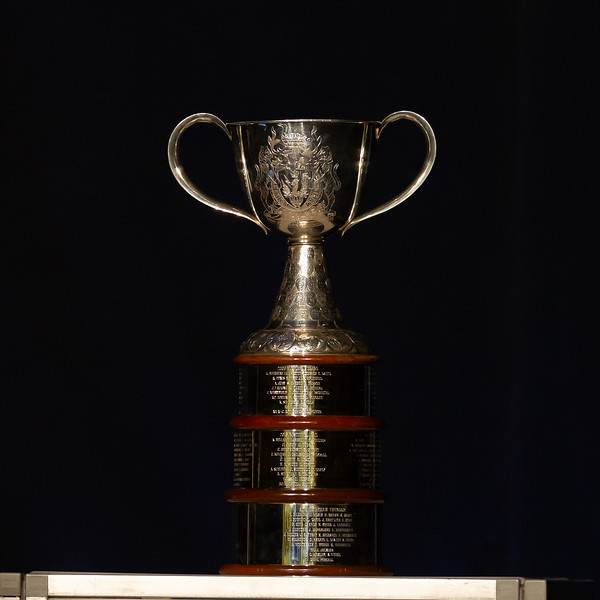 TORONTO, ON - March 22, 2019: The Mattamy Centre of Ryerson University hosted the 2019 edition of the CWHL Awards Ceremony. The Clarkson Cup trophy will be awarded Sunday March 24, 2019 to the winner of the Clarkson Cup Championship Final game.