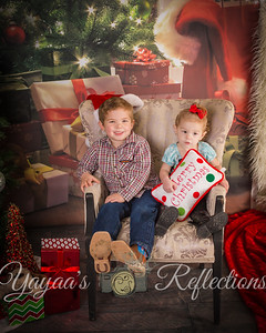 Children's World Christmas Portrait Proofs
