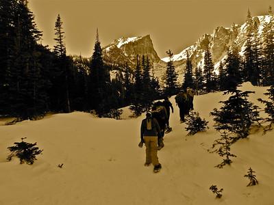 Snowshoeing RMNP