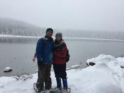 Jason Isaacs Snowshoeing - Rocky Mountain National Park