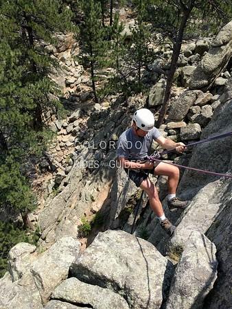 July 12 2018 rock climbing Doran