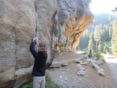 William Spurr Rock Climbing
