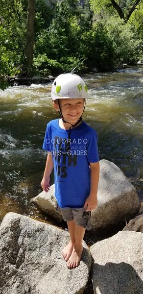 2018 06 21 Carter climb and creek play day